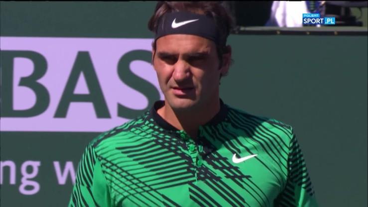 Indian Wells: Federer - Wawrinka. Skrót finału