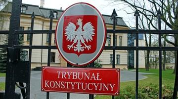 11-01-2016 16:48 Trybunał Konstytucyjny umorzył sprawę 10 uchwał Sejmu ws. sędziów TK