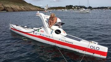 Aleksander Doba po raz trzeci przepłynął Atlantyk