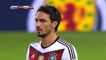 2015-09-07 Niemcy sprezentowali gola Szkotom. Samobój Hummelsa!