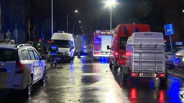 Wybuch w Warszawie: mężczyzna stracił dłonie. Ewakuowano cały blok