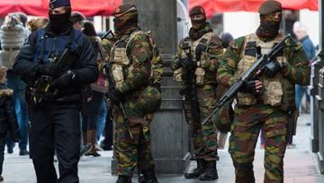 22-11-2015 15:14 Belgia: Trwają poszukiwania podejrzanych o terroryzm
