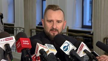 04-11-2016 17:30 Liroy-Marzec: niech szef MSWiA wyjaśni kontrolę policji w moim biurze poselskim
