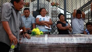 24-04-2016 07:06 Ekwador: 654 ofiary trzęsienia ziemi. Odbudowa kraju pochłonie 3 mld dolarów