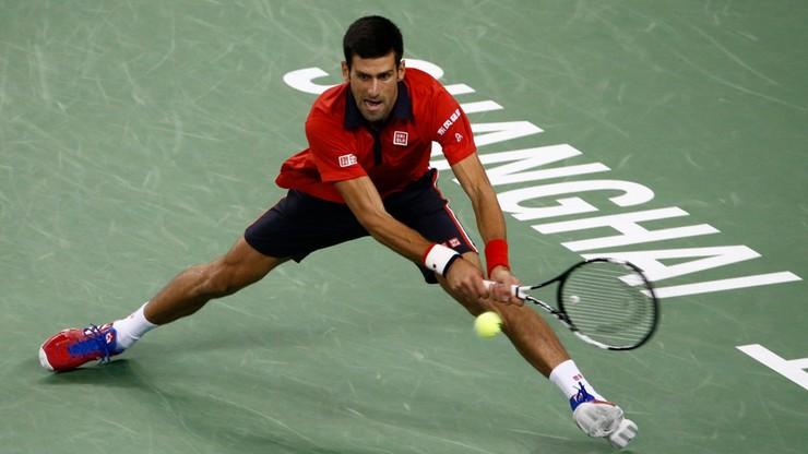 Djokovic i Tsonga w finale turnieju ATP w Szanghaju