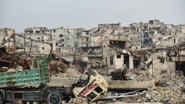 03-01-2017 05:09 Syryjscy rebelianci zamrozili rozmowy pokojowe. Przez naruszenia rozejmu