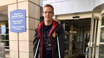 2017-05-25 Bourdais, który uległ wypadkowi w Indianapolis 500, wyszedł ze szpitala
