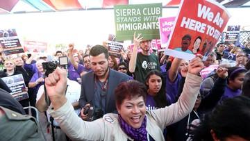 Marsz obrońców praw obywatelskich w proteście przeciw Trumpowi