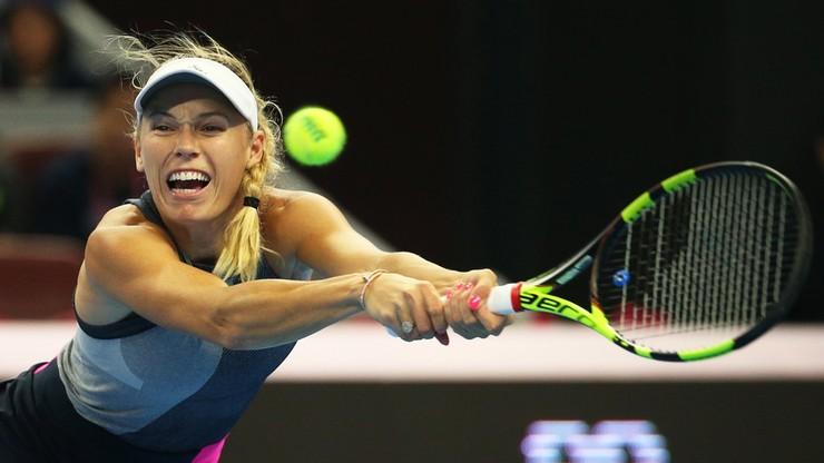 WTA w Hongkongu: Wozniacki i Switolina wycofały się z zawodów