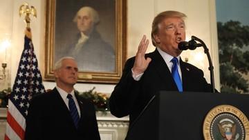 06-12-2017 19:27 USA uznają Jerozolimę za stolicę Izraela. Hamas: Trump otworzył bramy piekieł