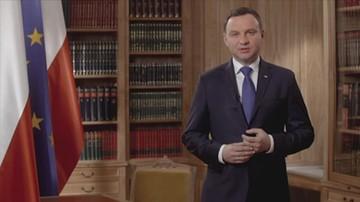 Orędzie prezydenta Andrzej Dudy
