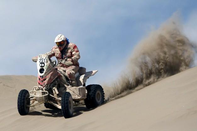 Rafał Sonik nie jest już liderem Dakaru