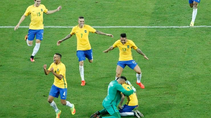 Brazylia w końcu złota. Neymar i spółka mistrzami olimpijskimi pierwszy raz w historii