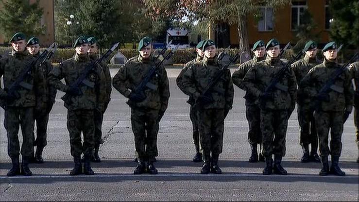 Nie ma ustawy, ani formacji. Przyszli oficerowie Wojsk Obrony Terytorialnej złożyli przysięgę