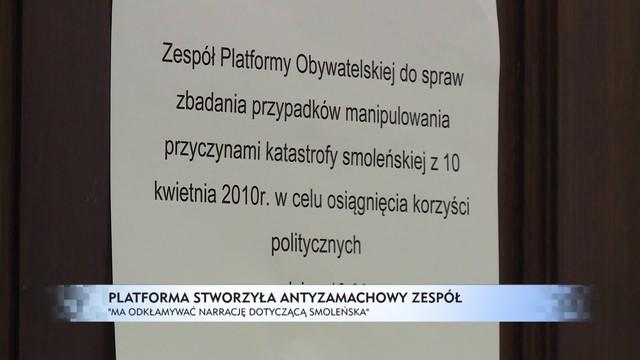 Antyzamachowy zespół Platformy Obywatelskiej. Opozycja rzuca wyzwanie ekspertom Macierewicza