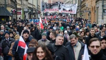 28-02-2016 21:37 Kraków: odsłonięcie pomników i koncert pamięci Żołnierzy Wyklętych