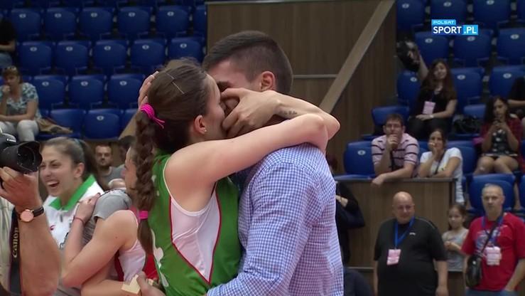 Radość po porażce?! Bułgarska siatkarka totalnie zaskoczona... oświadczynami