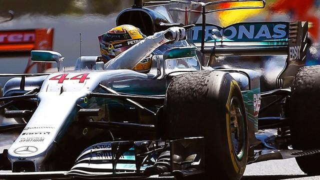 Formuła 1 - Hamilton wygrał wyścig w Barcelonie
