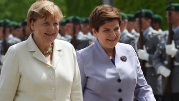 22-06-2016 14:05 Premier Szydło z delegacją rządową przybyła do Berlina