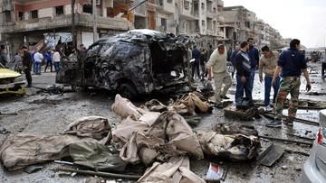 26-02-2016 11:21 Intensywne rosyjskie naloty przed rozejmem w Syrii