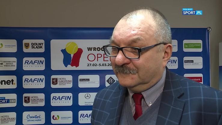 Przybylski: Turniej we Wrocławiu to świetna reklama tenisa