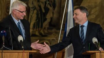 11-01-2016 21:41 Waszczykowski w Pradze: Polsce zależy na utrzymaniu dynamicznej współpracy wyszehradzkiej