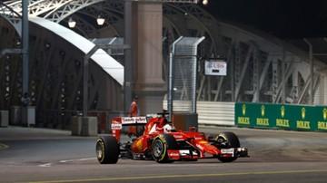2015-09-19 GP Singapuru: Kierowcy Ferrari najszybsi na ostatnim treningu