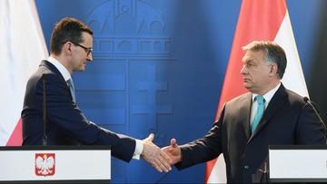 """""""Procedura KE wobec Polski nie ma faktycznych podstaw"""". Orban przekonuje, że """"Węgry stoją za Polską"""""""