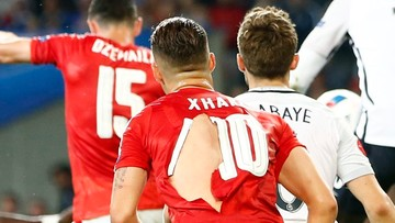 """20-06-2016 12:17 Porwane koszulki Szwajcarów robią furorę w sieci. """"Dzięki Bogu, że Puma nie robi prezerwatyw"""""""