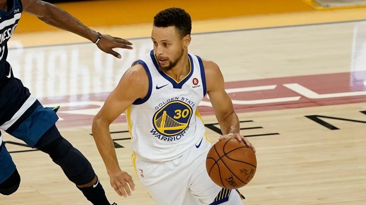 NBA: Powrót Curry'ego, 141 punktów Warriors