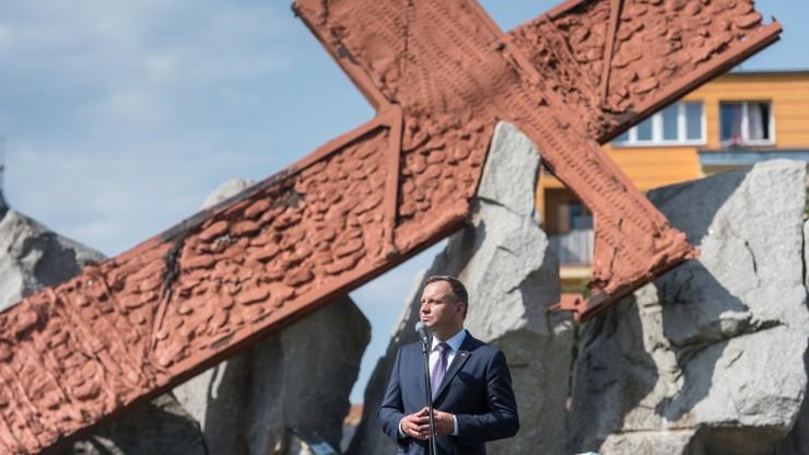 Prezydent: robotnicy w Lubinie zginęli za wolność