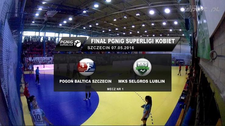 Pogoń Baltica Szczecin - MKS Selgros Lublin 22:25. Skrót meczu