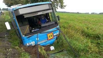 09-09-2017 10:23 Wypadek autobusu wiozącego dzieci. Dziewięć osób poszkodowanych