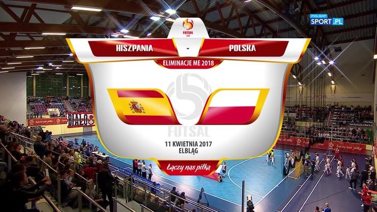 Polska - Hiszpania 1:1. Skrót meczu