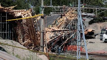 12 osób rannych po zawaleniu budowanego mostu w Szwecji