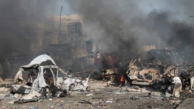 Rośnie liczba zamachu w Somalii. Już ponad 270 osób nie żyje