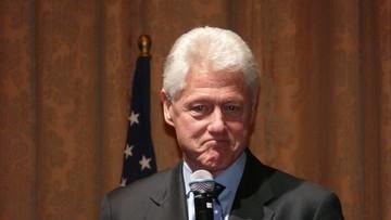 15-09-2016 05:09 Clinton zdrowieje. Na razie zastępuje ją mąż
