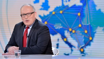 Timmermans: jestem optymistą ws. Polski, ale KE ma narzędzia