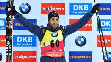 2017-01-13 PŚ w biathlonie: Fourcade nie zwalnia tempa