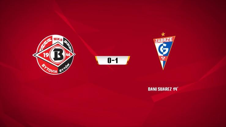 Bytovia Bytów - Górnik Zabrze 0:1. Skrót meczu