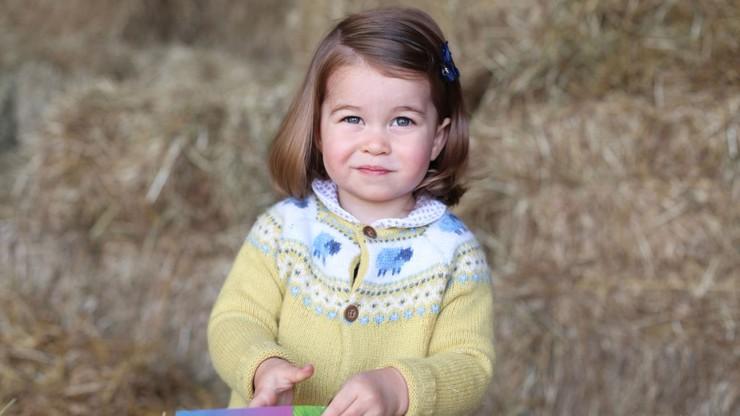 Nowe zdjęcie księżniczki Charlotte. Z okazji jej drugich urodzin