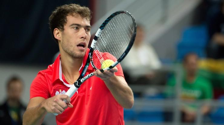 Puchar Davisa: Janowicz zapewnił Polakom zwycięstwo nad Litwą