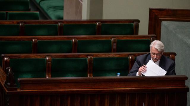 Waszczykowski: Dyplomacja to gra na wielu fortepianach