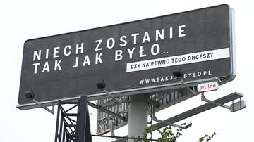 """""""To nie PiS prowadzi kampanię"""". Krajewski w """"Tak czy Nie"""" o billboardach Polskiej Fundacji Narodowej"""