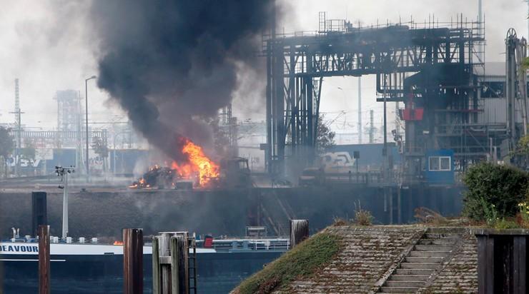Wybuch w zakładach BASF w Ludwigshafen