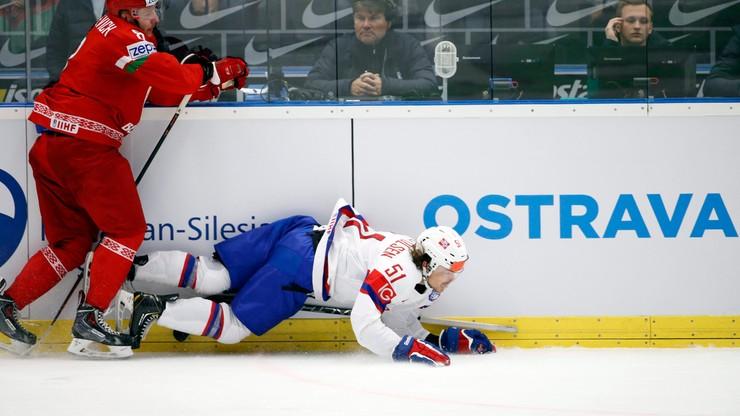 Białorusini w ćwierćfinale MŚ w hokeju