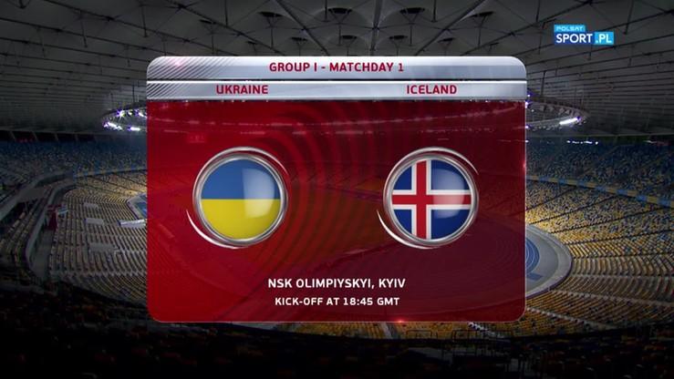 2016-09-05 Ukraina - Islandia 1:1. Skrót meczu