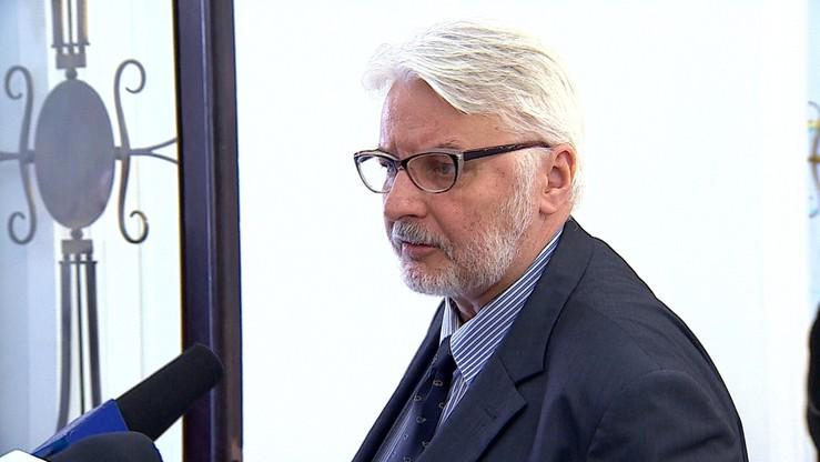 Waszczykowski: Polska otwarta na dialog z Francją pod nowymi rządami
