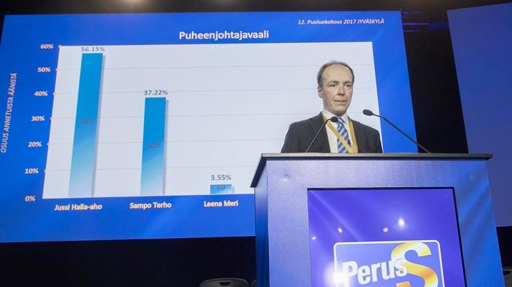Nowy lider Partii Finów - grozi rozłam koalicji