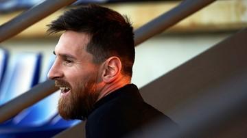2017-11-21 Liga Mistrzów: Olympiakos ukarany za zachowanie kibiców wobec Messiego